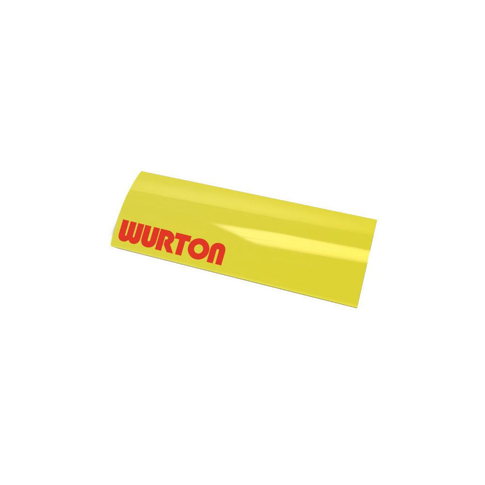 Wurton ® - 12 Inch Secondary Integrated Amber Lens Cover (85122)