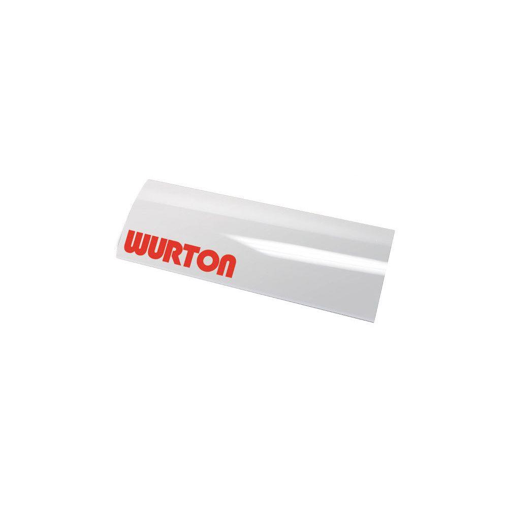Wurton ® - 8 Inch Secondary Integrated Clear Lens Cover (85081)