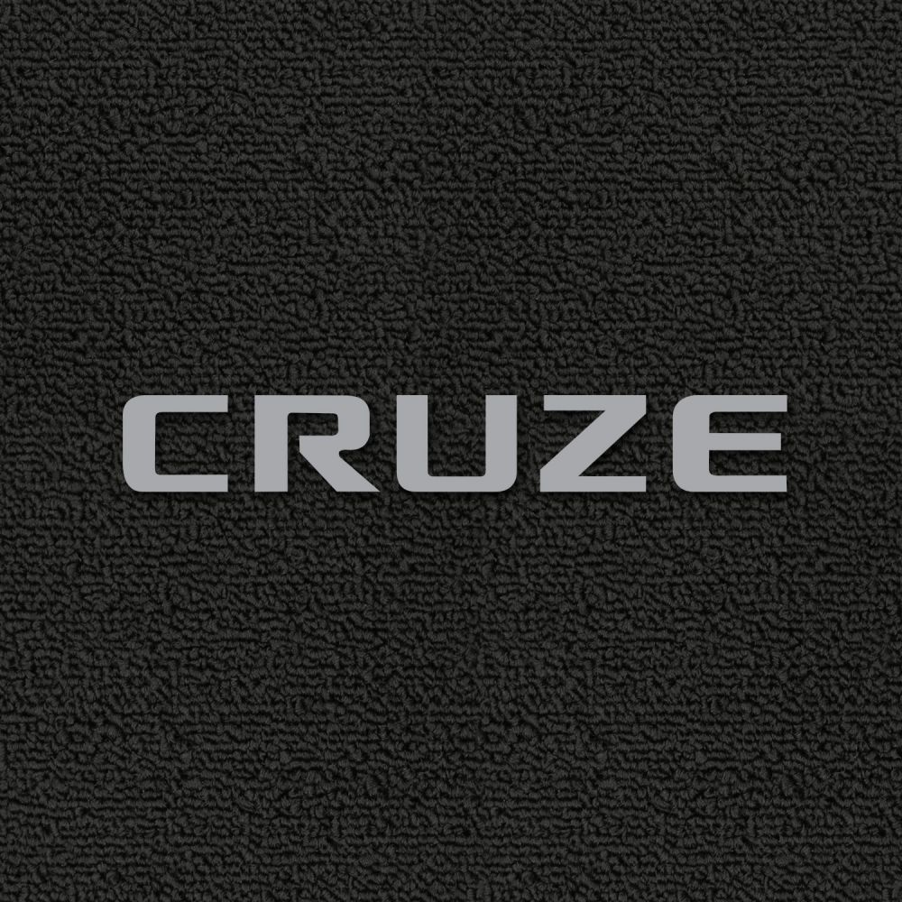 Lloyd Mats ® - Classic Loop Ebony Front Floor Mats For Chevrolet Cruze 2011-17 with Chevrolet Cruze Silver Embroidery