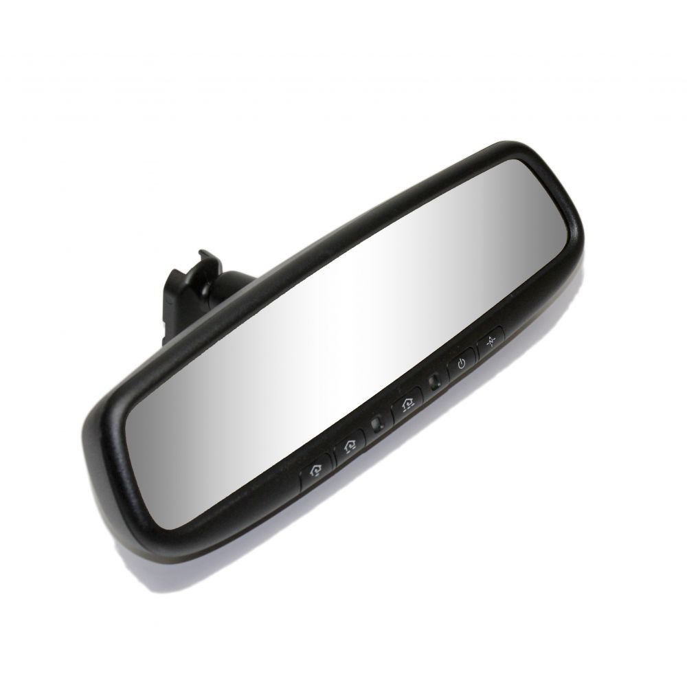 Mito Auto ® - Gentex Auto-Dim Rearview Mirror With 3.3 Inch RCD, Compass and HomeLink (50-2010TUNK3345)