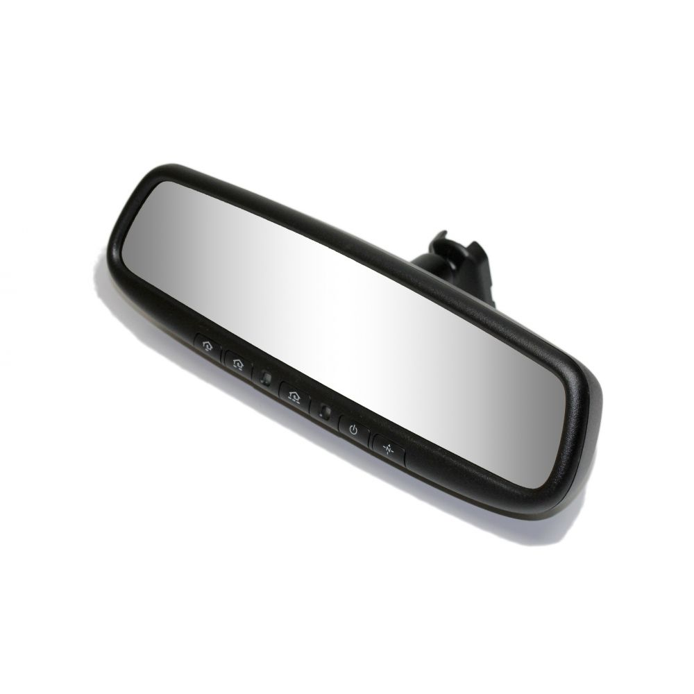 Mito Auto ® - Gentex Auto-Dim Universal Rearview Mirror With RCD, Compass and HomeLink (50-GENK3345S)