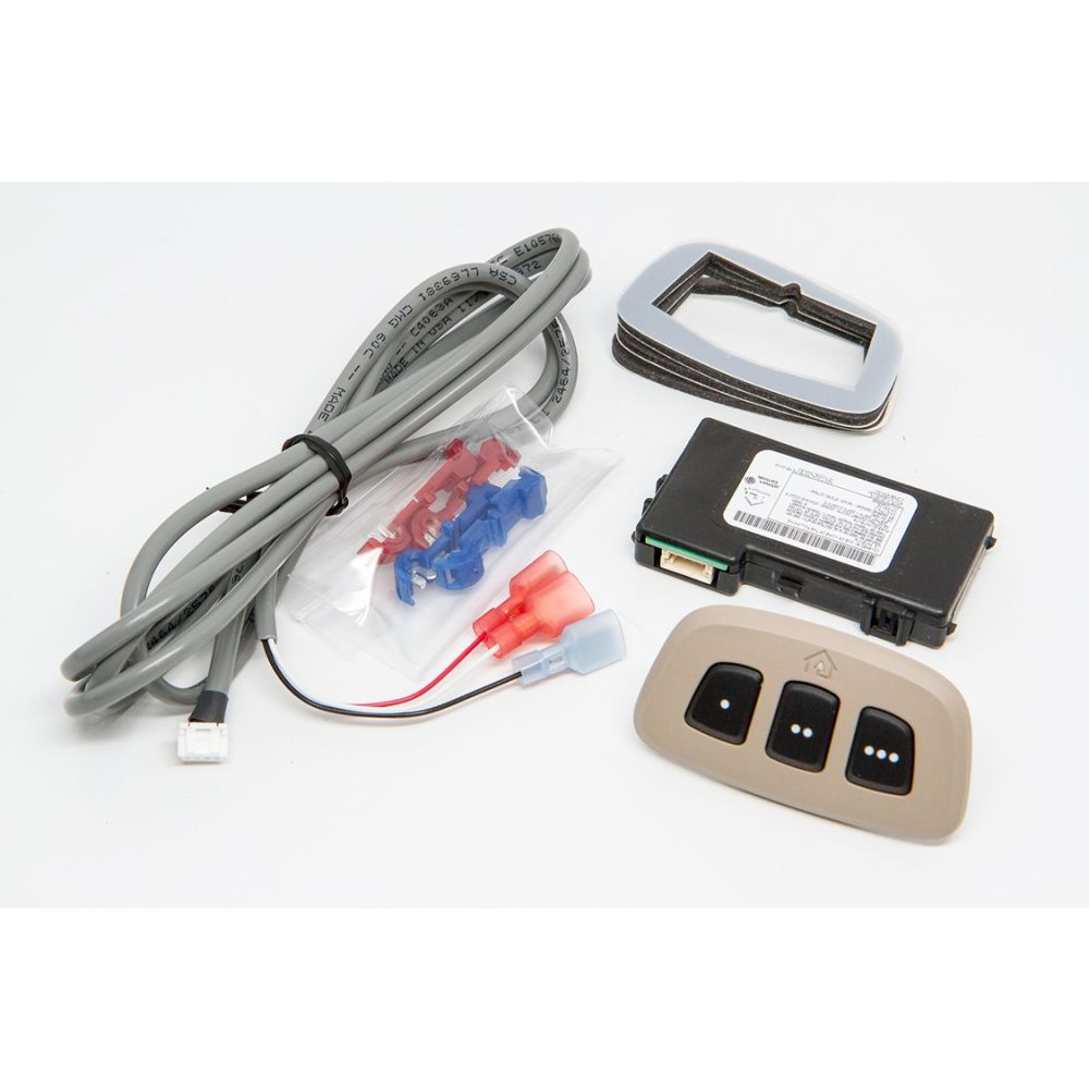 Mito Auto ® - HomeLink Version 5 Module with Tan Bezel (60-HMLKV5TAN)