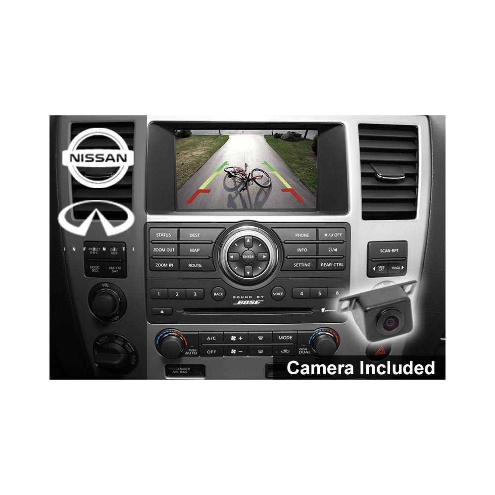 Mito Auto ® - Rear Factory Screen Integration Camera Kit (20-NISCAMKIT2)