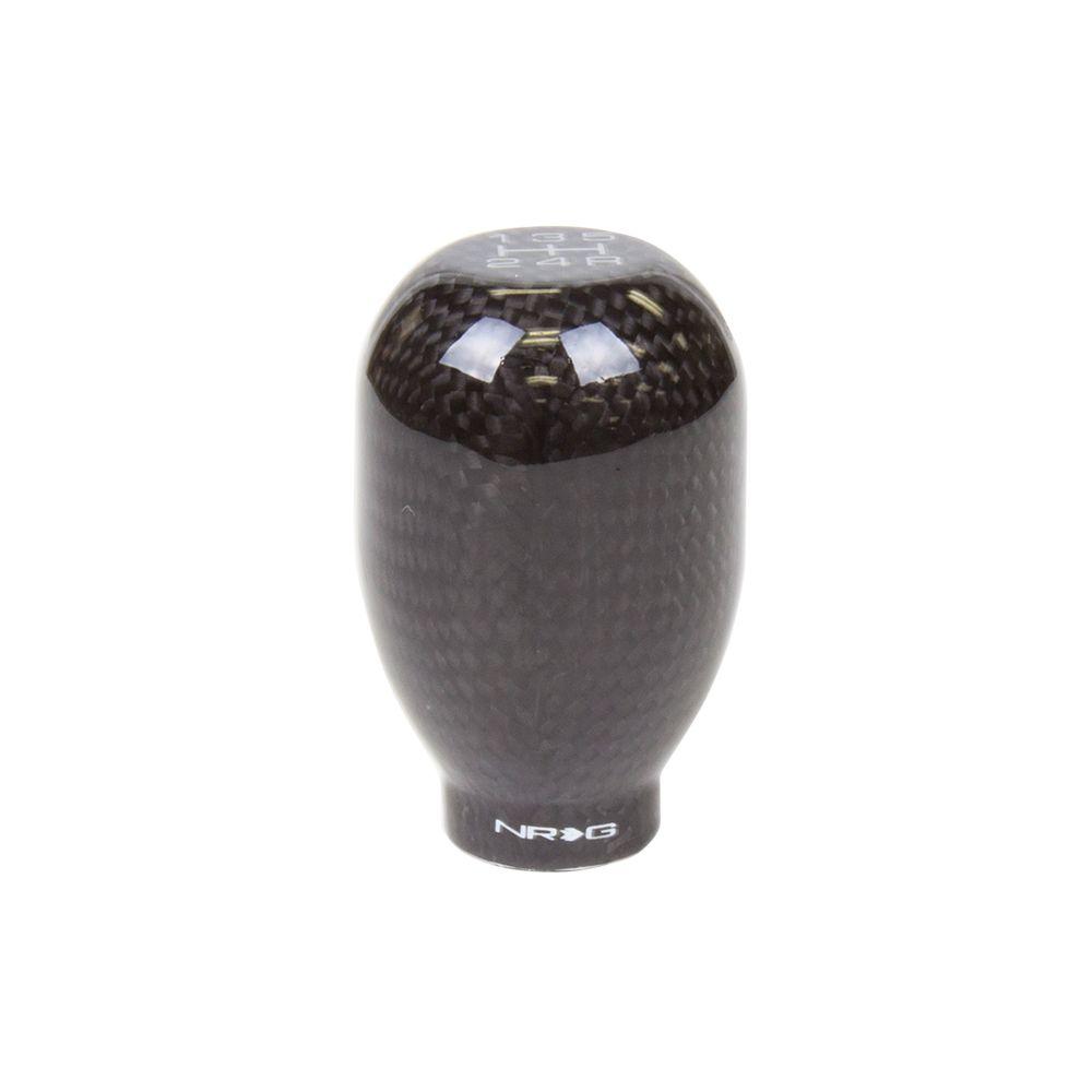 NRG ® - 42mm 5 Speed Black Carbon Fiber Heavy Weight Universal Shift Knob 480g / 1.1lbs (SK-100BC-W)
