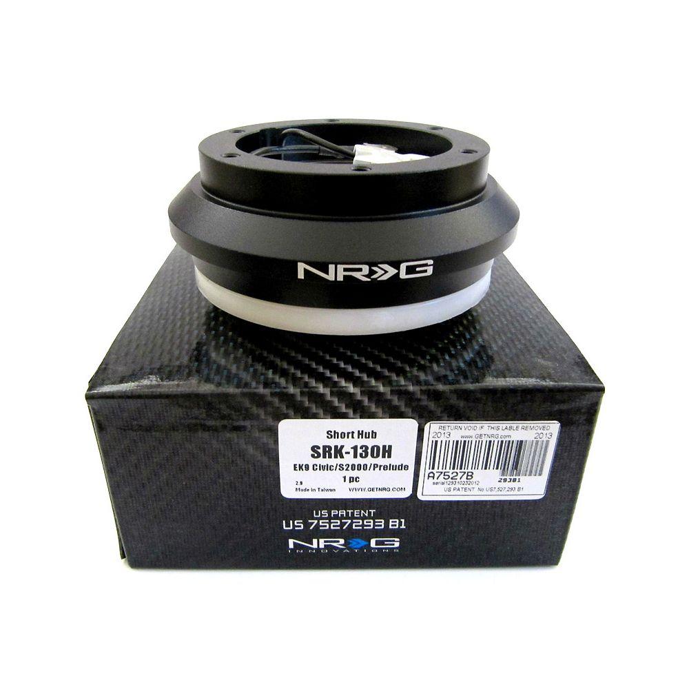 NRG ® - Black Short Hub Adapter (SRK-130H)