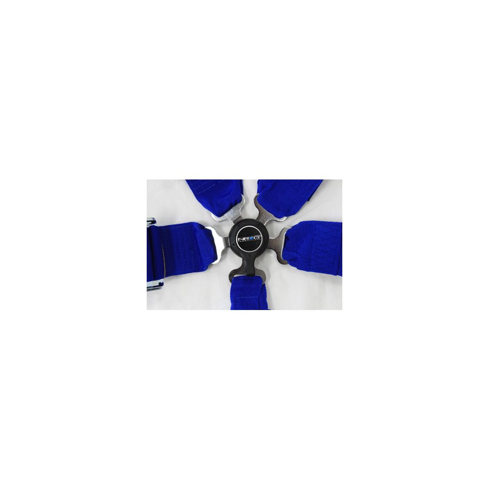 NRG ® - Blue 6 Point 3 Inches Cam Lock Seat Belt Harness (SBH-6PCBL)