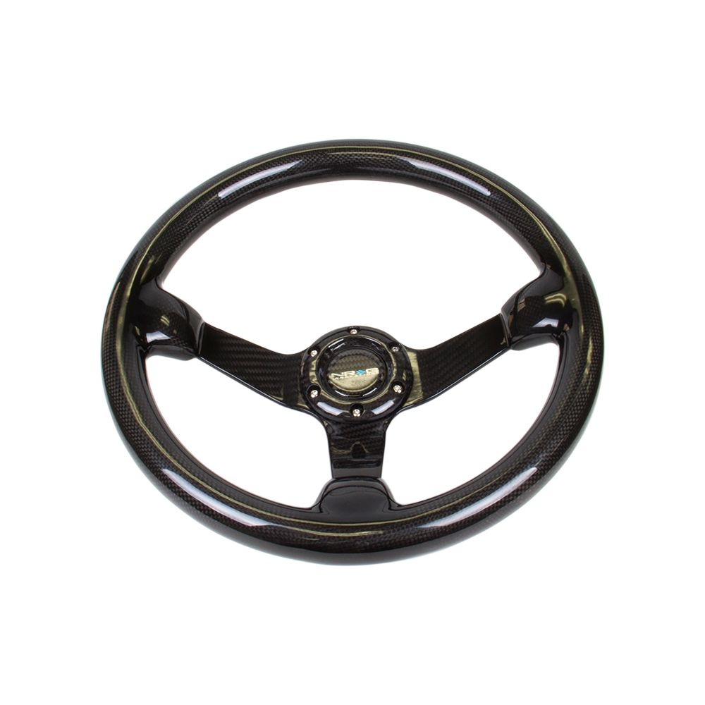 NRG ® - Carbon Fiber Steering Wheel Deep Dish with Carbon Fiber Spokes (ST-036CF)