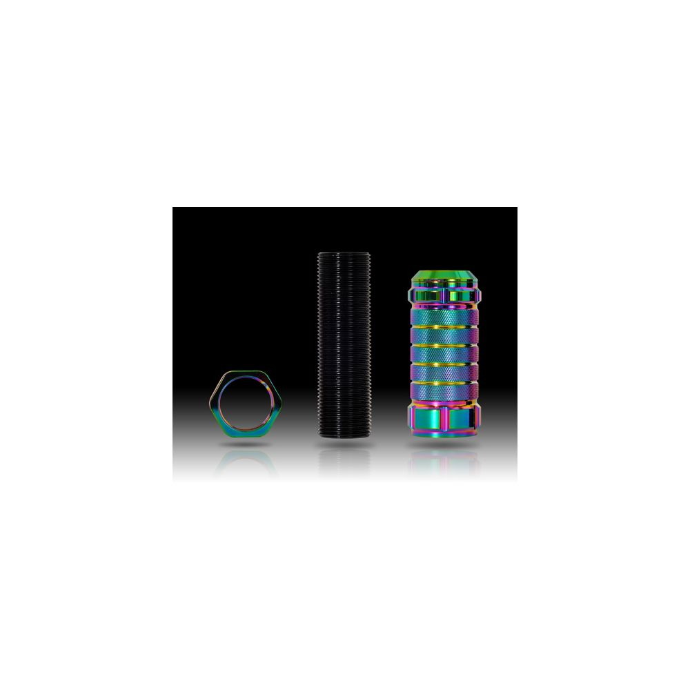 NRG ® - Neochrome Stealth Adjustable Shift Knob (SK-500MC-1)