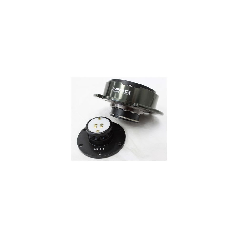 NRG ® - Quick Release Black Body with Black Chrome Ring (SRK-250BKC)