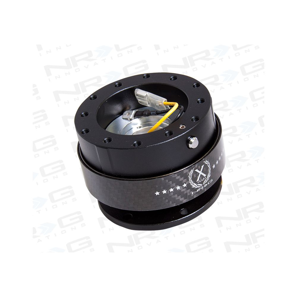 NRG ® - Quick Release Black Body with Carbon Fiber Ring (SRK-200CF)