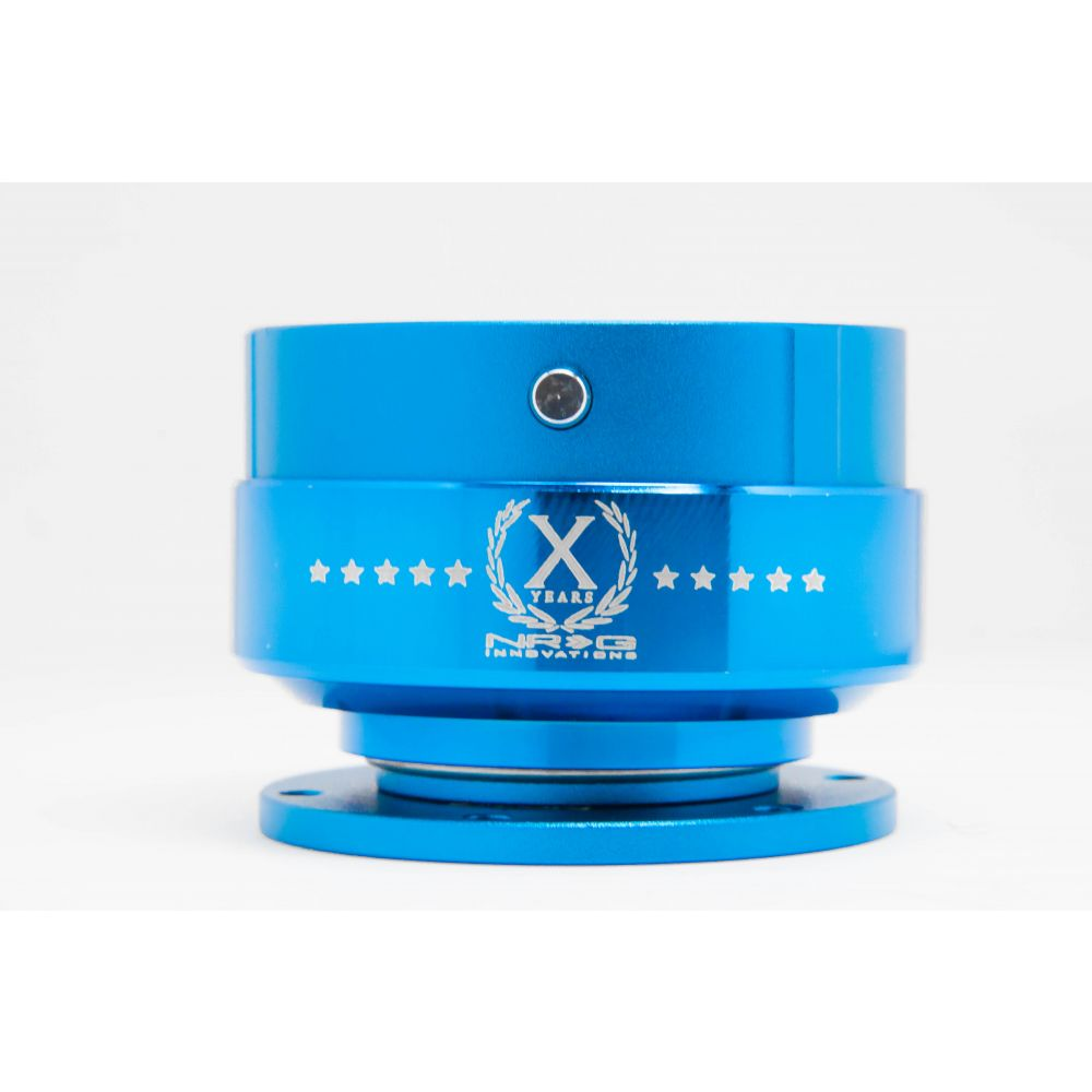 NRG ® - Quick Release Blue Body with Blue Ring (SRK-200BL)