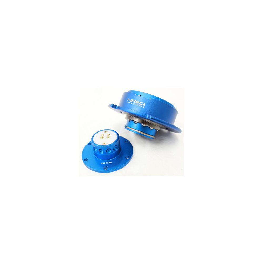 NRG ® - Quick Release Blue Body with Blue Ring (SRK-250BL)