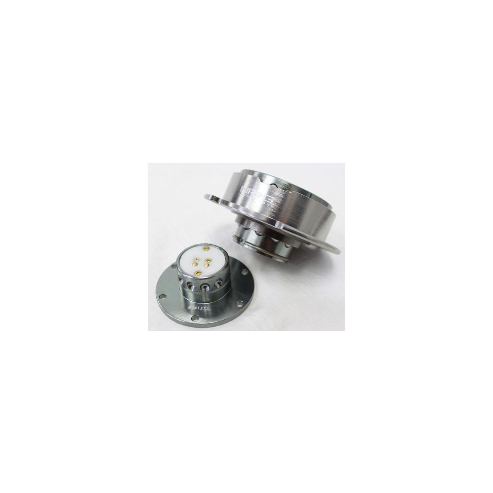 NRG ® - Quick Release Gun Metal Body with Gun Metal Ring (SRK-250GM)
