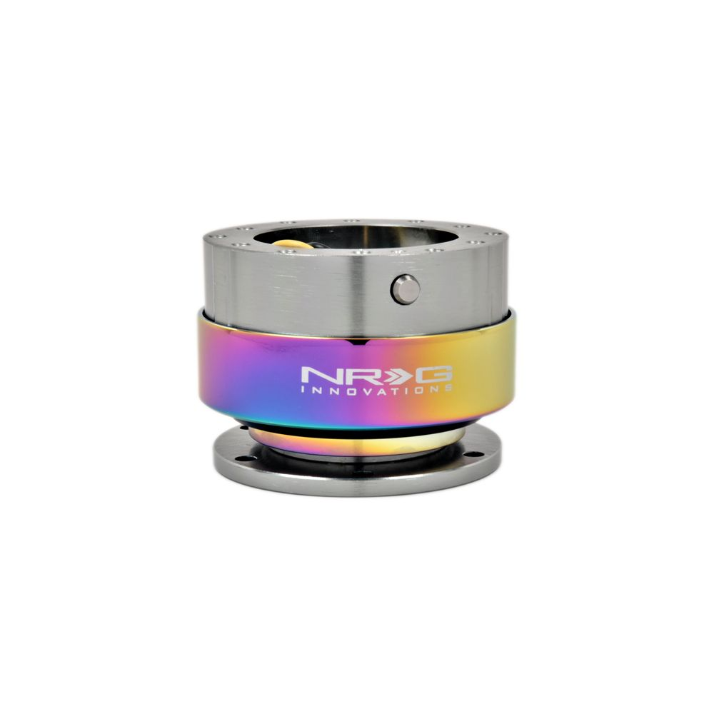NRG ® - Quick Release Gun Metal Body with Neochrome Ring (SRK-200GM-MC)