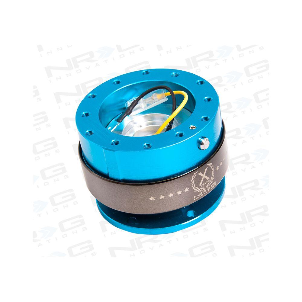 NRG ® - Quick Release New Blue with Titanium Chrome Ring (SRK-200NB)