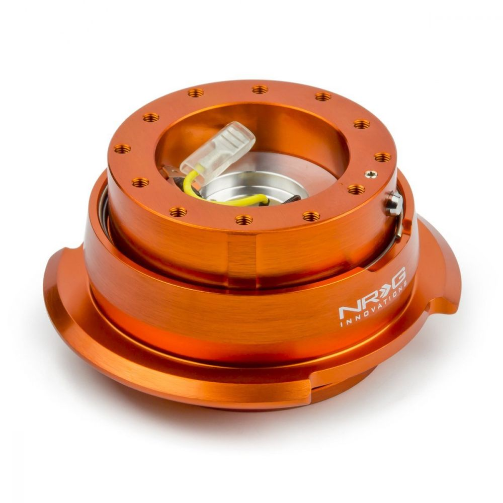 NRG ® - Quick Release Orange Body with Diamond Cut Orange Ring (SRK-280OR)