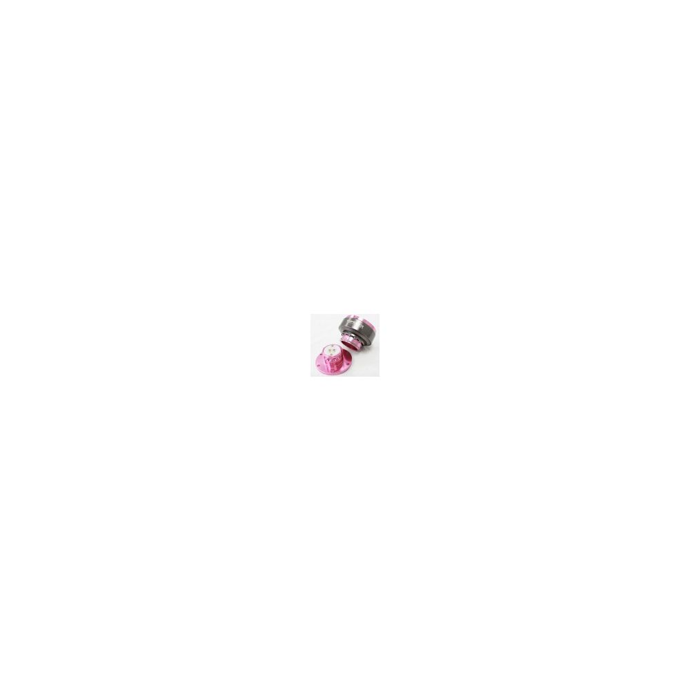 NRG ® - Quick Release Pink Body with Titanium Chrome Ring (SRK-200PK)