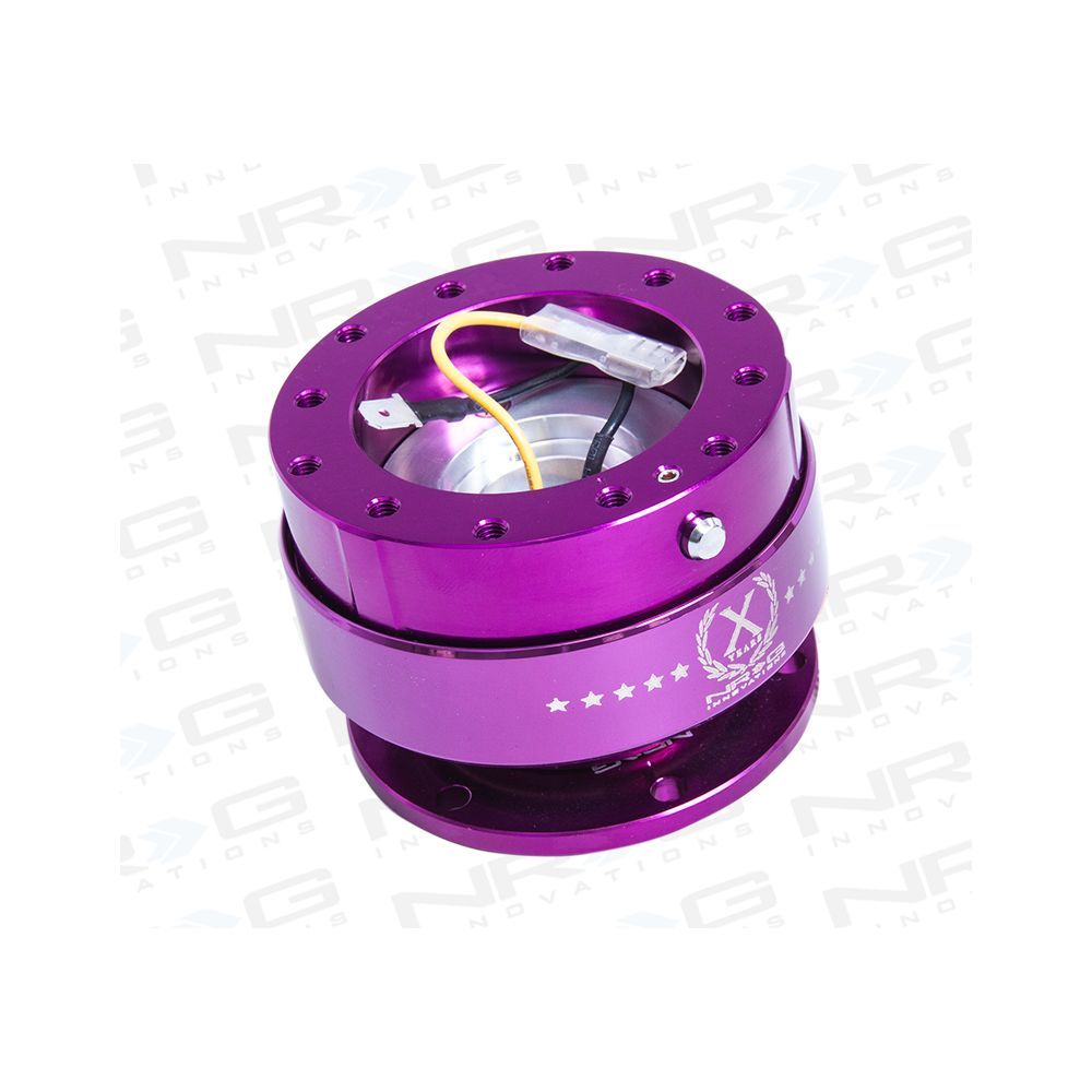 NRG ® - Quick Release Purple Body with Purple Ring (SRK-200PP)