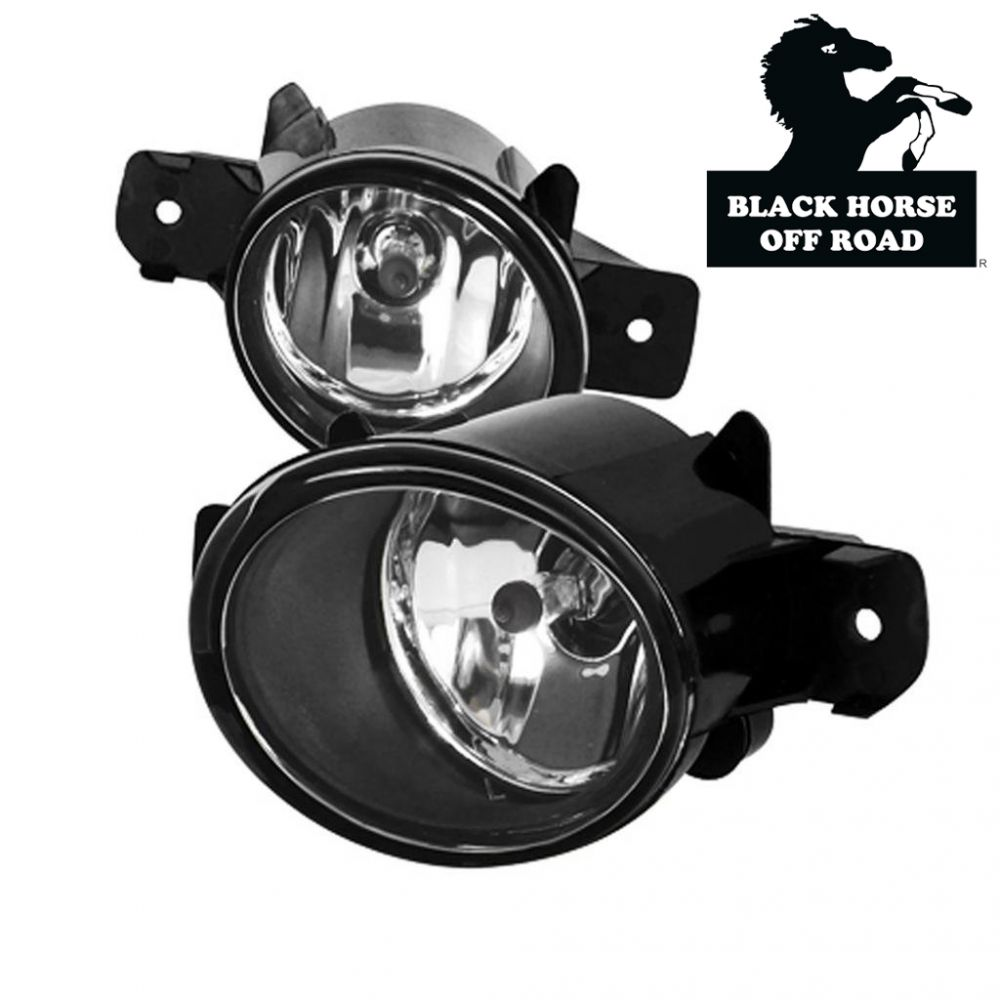 Black Horse Off Road ® - OEM Replica Clear Fog Lights (NS561OE)