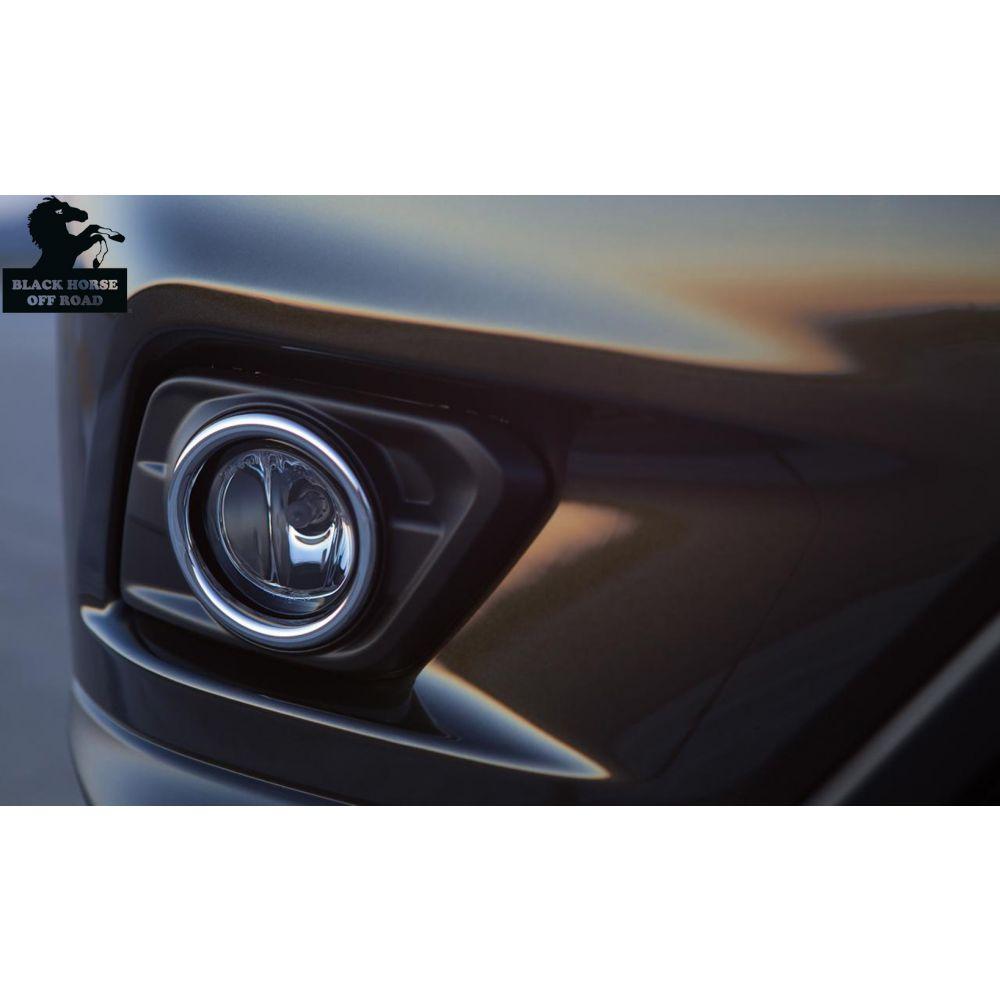 Black Horse Off Road ® - OEM Replica Clear Fog Lights (NS730OE)