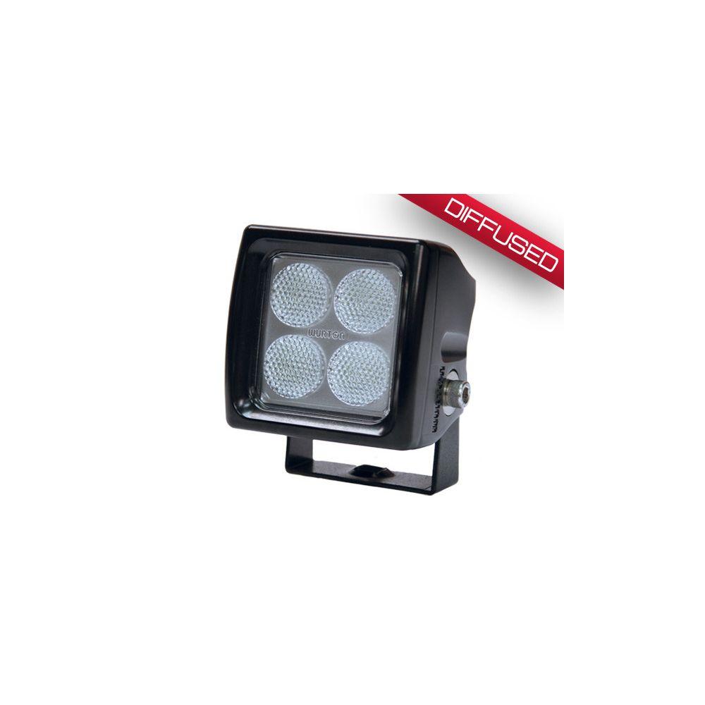 Wurton ® - 3 Inch 5 Watt Single Scout LED Diffused Beam Cube Light (34043)
