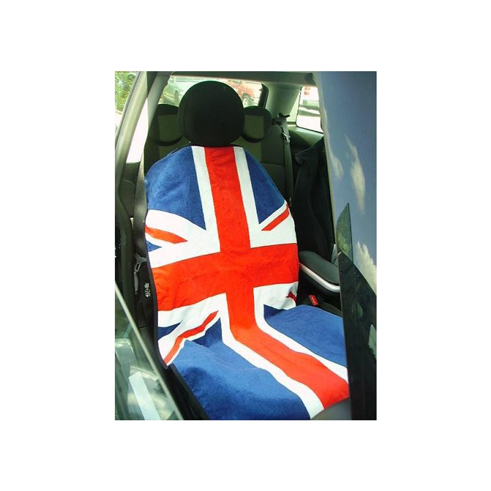 Seat Armour ® - Pair of Towel Seat Covers with RWB British Flag (SA100MINIRWB)