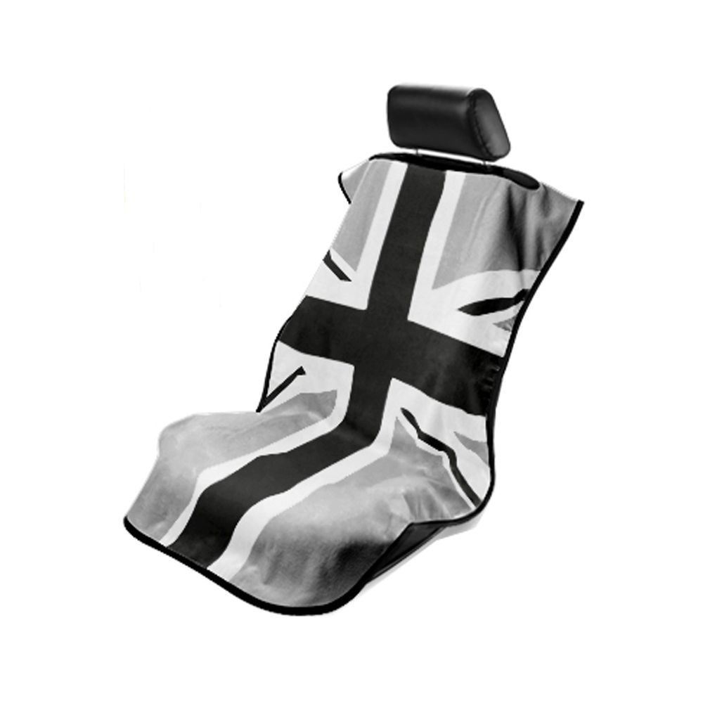 Seat Armour ® - Towel Seat Cover with BWG British Flag (SA100MINIBG)