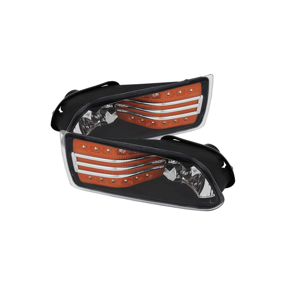 Spyder Auto ® - Amber LED Fog Lights (5075222)