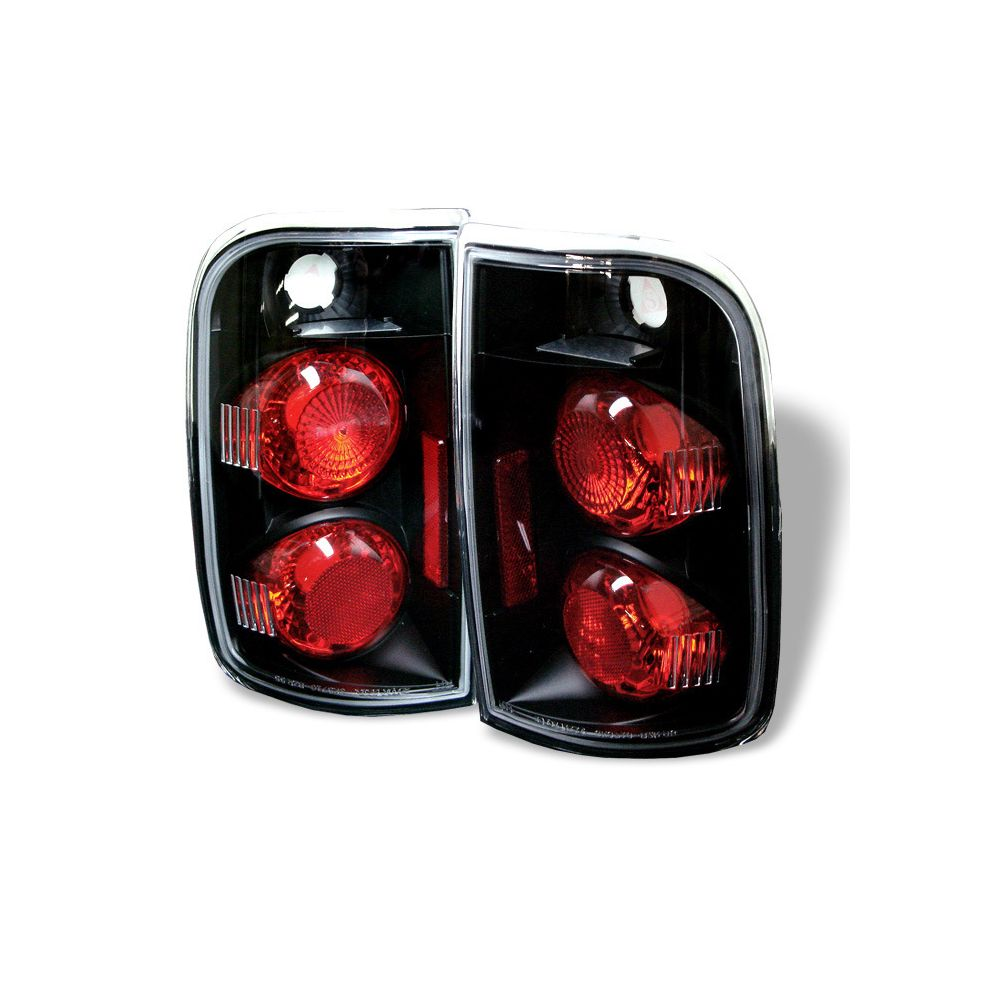 Spyder Auto ® - Black Euro Style Tail Lights (5001146)