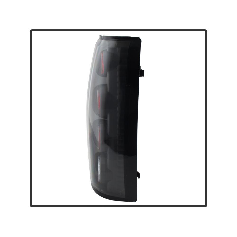Spyder Auto ® - Black Euro Style Tail Lights (5001283)
