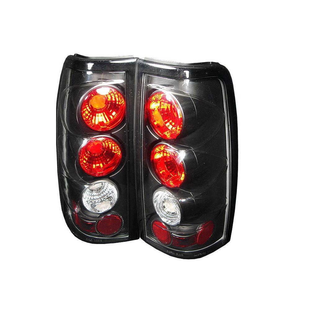 Spyder Auto ® - Black Euro Style Tail Lights (5001696)