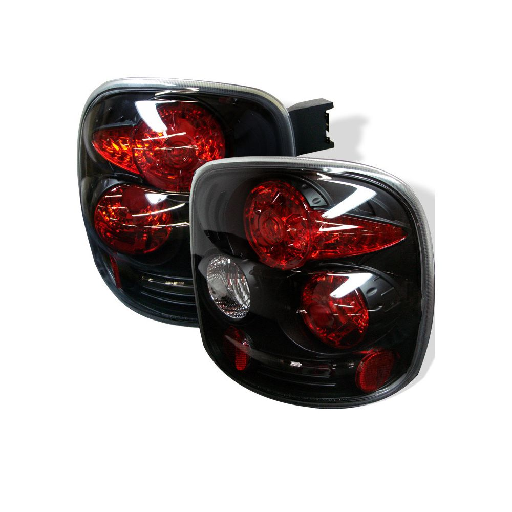 Spyder Auto ® - Black Euro Style Tail Lights (5002105)