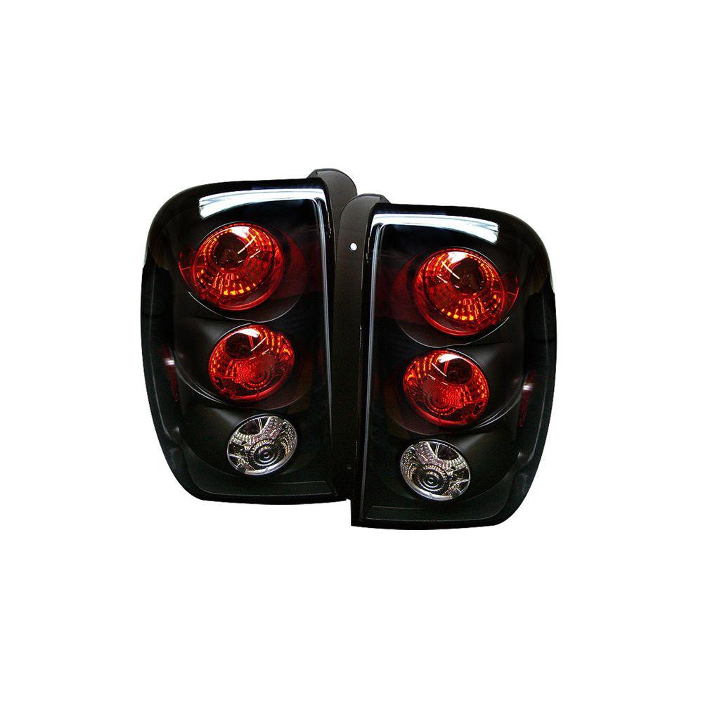 Spyder Auto ® - Black Euro Style Tail Lights (5002181)