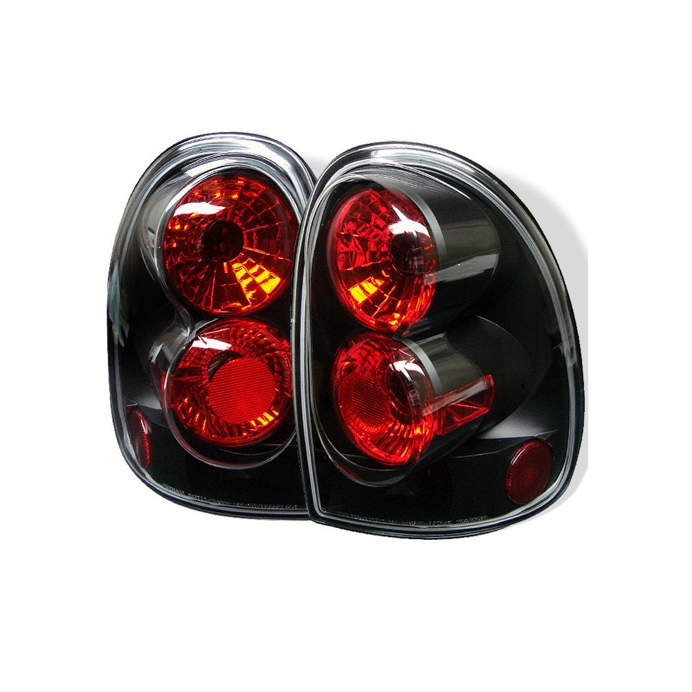 Spyder Auto ® - Black Euro Style Tail Lights (5002235)