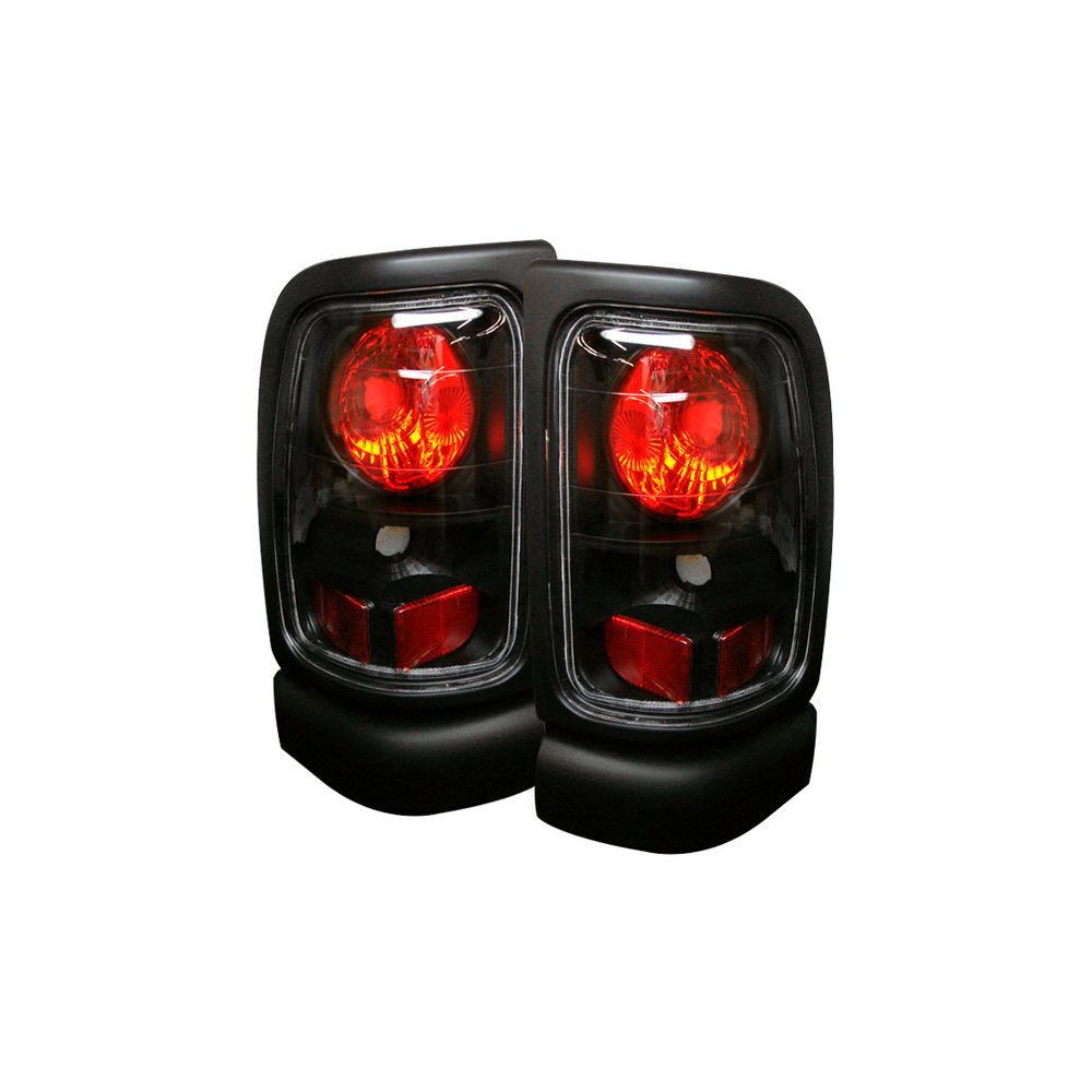 Spyder Auto ® - Black Euro Style Tail Lights (5002662)