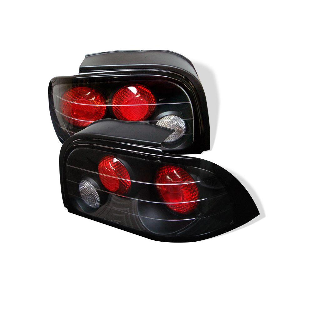 Spyder Auto ® - Black Euro Style Tail Lights (5003584)