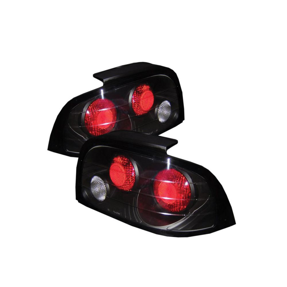 Spyder Auto ® - Black Euro Style Tail Lights (5003621)