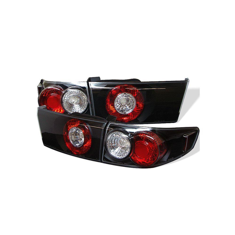 Spyder Auto ® - Black Euro Style Tail Lights (5003980)