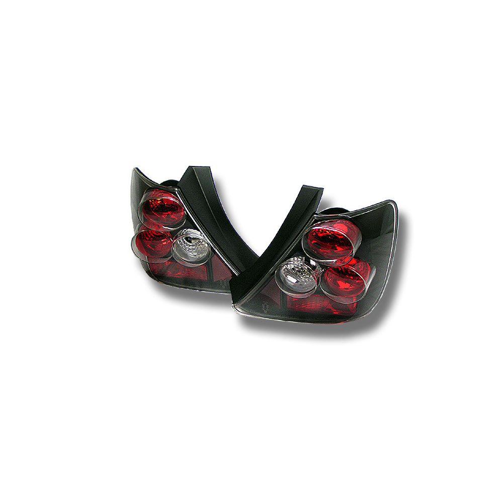 Spyder Auto ® - Black Euro Style Tail Lights (5004437)