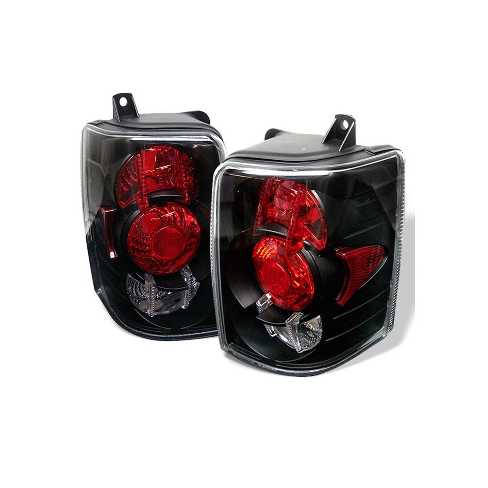 Spyder Auto ® - Black Euro Style Tail Lights (5005588)
