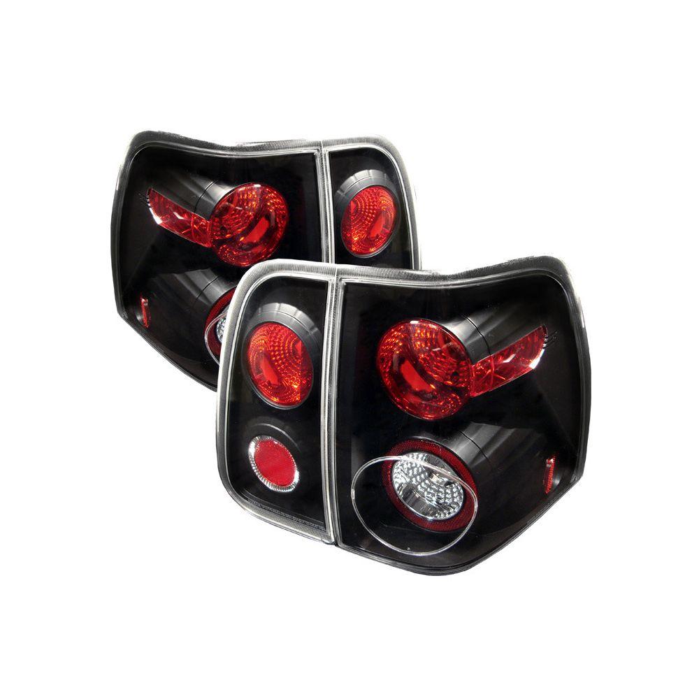 Spyder Auto ® - Black Euro Style Tail Lights (5005946)