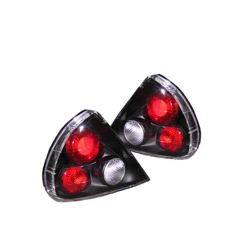 Spyder Auto ® - Black Euro Style Tail Lights (5006455)