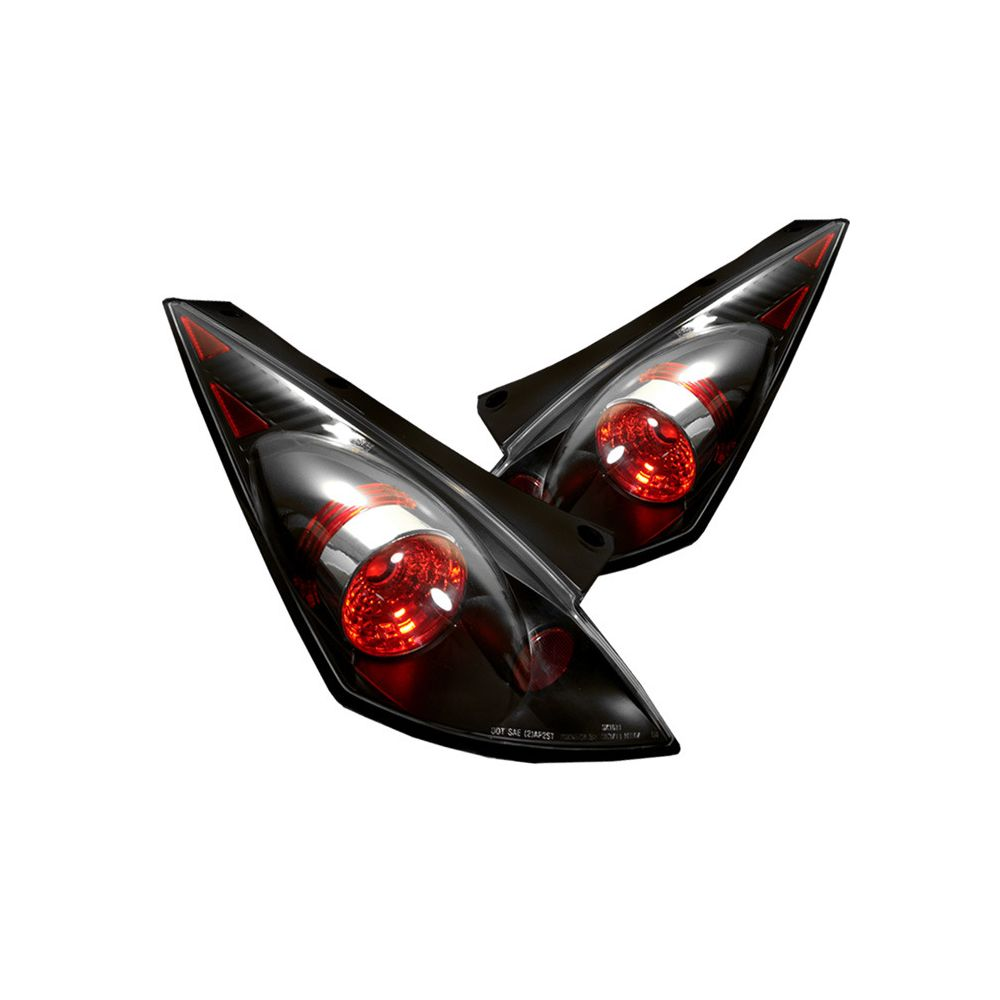 Spyder Auto ® - Black Euro Style Tail Lights (5006684)