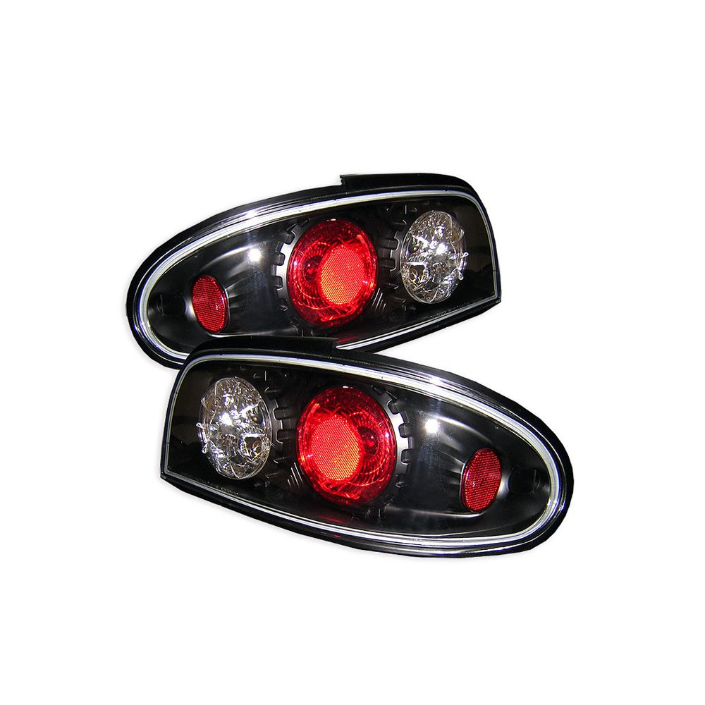 Spyder Auto ® - Black Euro Style Tail Lights (5006752)