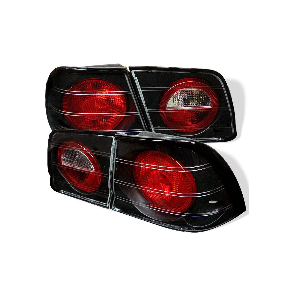 Spyder Auto ® - Black Euro Style Tail Lights (5006912)