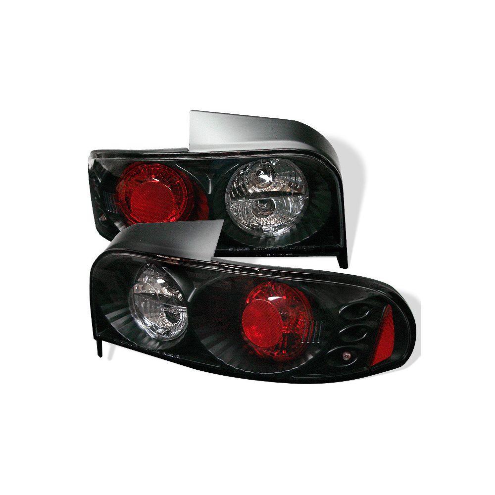 Spyder Auto ® - Black Euro Style Tail Lights (5007261)