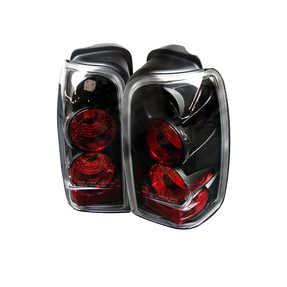 Spyder Auto ® - Black Euro Style Tail Lights (5007292)