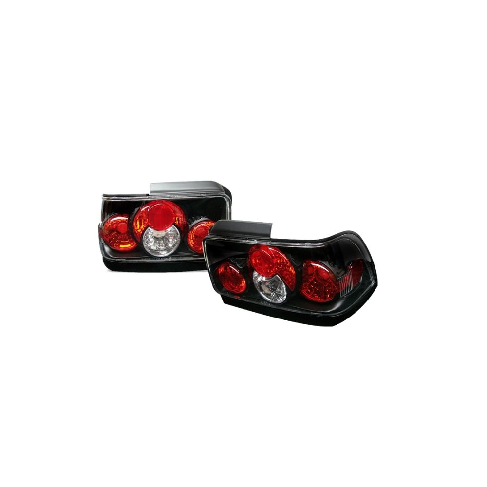 Spyder Auto ® - Black Euro Style Tail Lights (5007407)