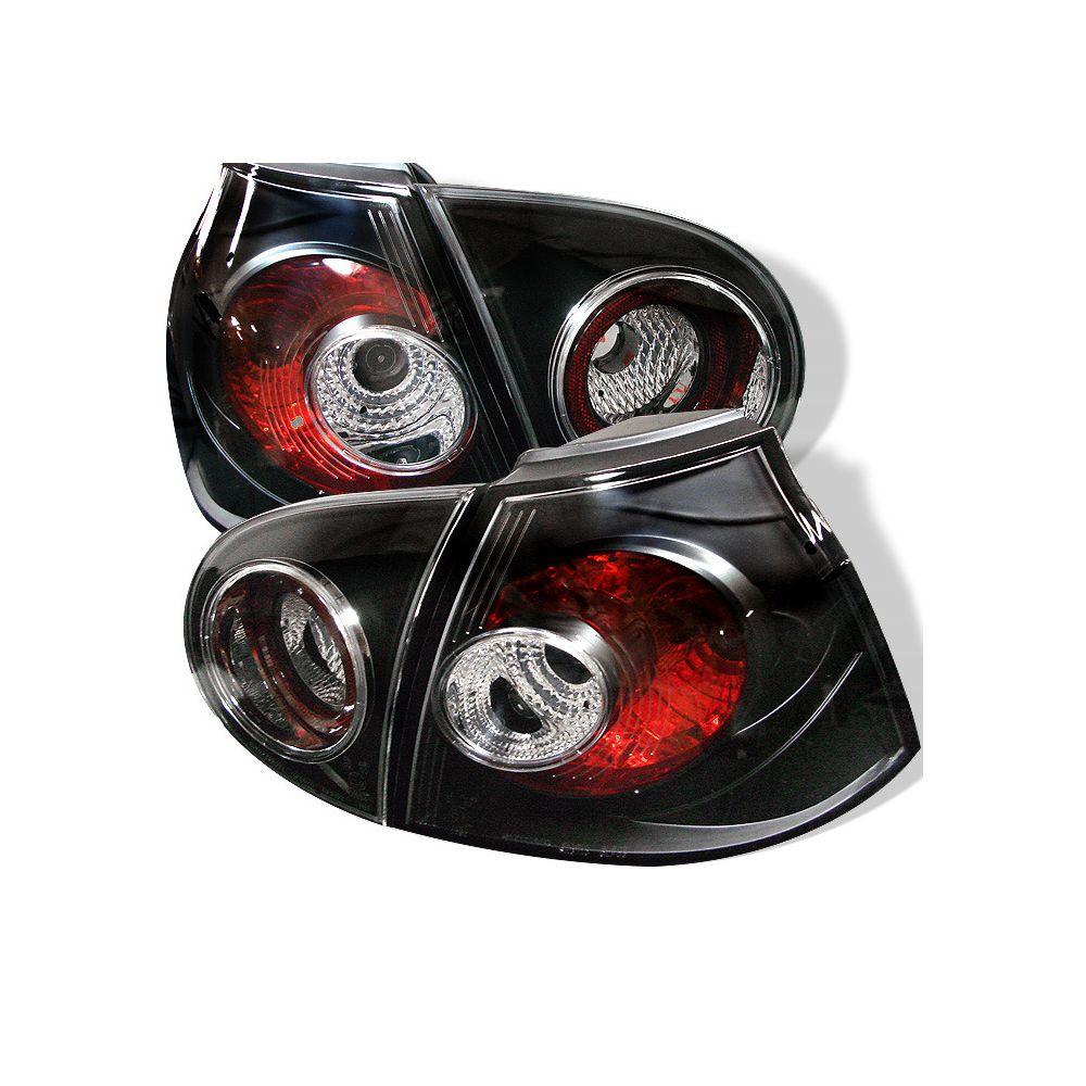 Spyder Auto ® - Black Euro Style Tail Lights  (5008152)