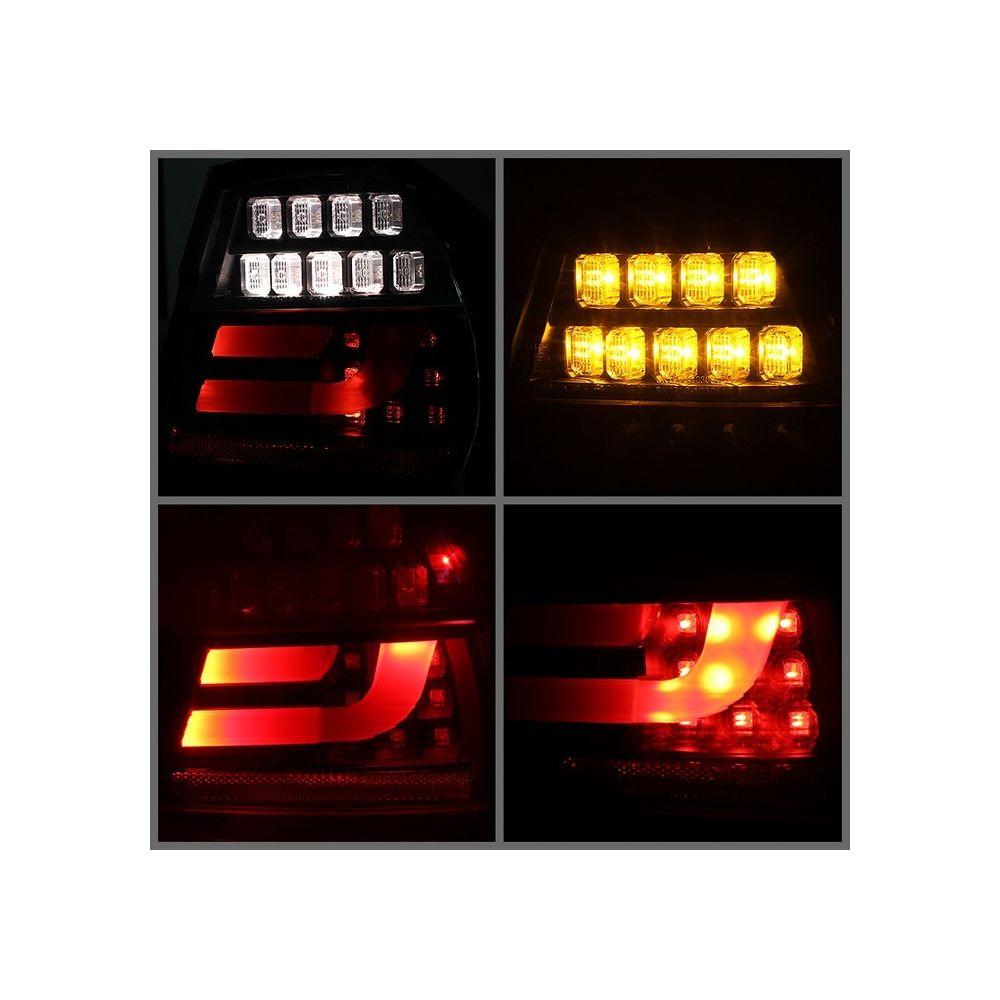 Spyder Auto ® - Black LED Indicator Light Bar LED Tail Lights (5071958)